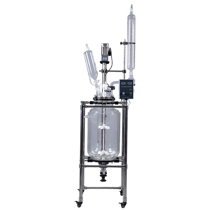 S-50L Jacketed Glass Reactor
