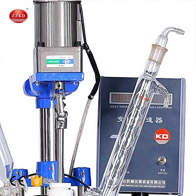 S-2L Jacketed Glass Reactor