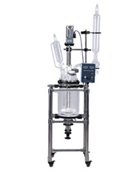S-10L Jacketed Glass Reactor